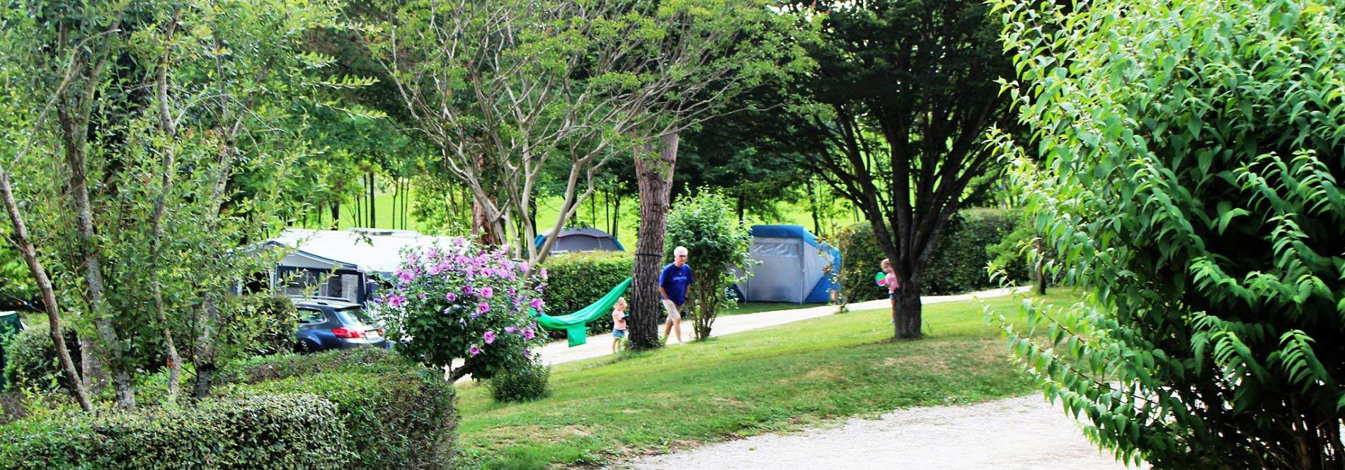 emplacement camping pre fixe
